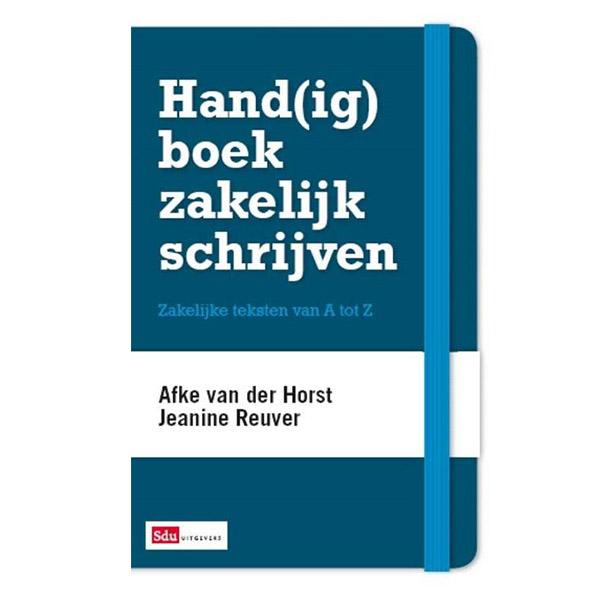 Handboek zakelijk schrijven