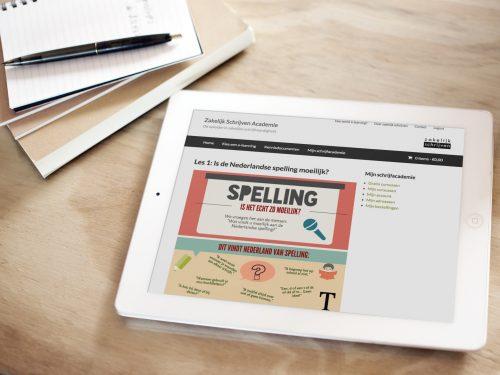 Online spellingcursus
