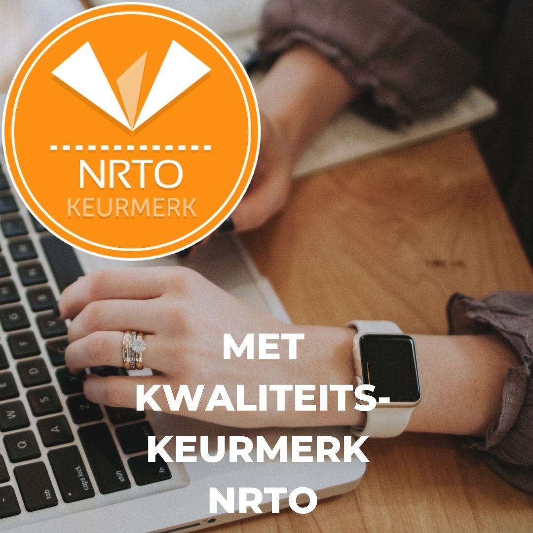 Schrijfcursus NRTO kwaliteitskeurmerk